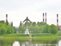 Взгляд парка авиаторов стоковая фотография rf