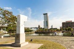 Взгляд парка Ramiro Blumenau, Санта-Катарина стоковые изображения rf