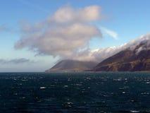 Взгляд парома к северному острову Новой Зеландии Стоковое Изображение RF