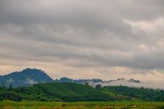 взгляд пасмурного неба Стоковая Фотография RF
