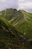 Взгляд перспективы горы Стоковое фото RF