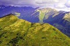 Взгляд перспективы горы Стоковое Изображение