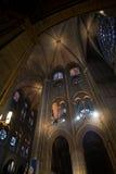 взгляд перспективы собора свода нутряной Стоковые Фотографии RF