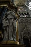 взгляд перспективы собора свода нутряной стоковые изображения