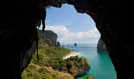Взгляд пещеры Стоковые Изображения