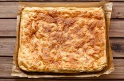 Взгляд пирога печенья слойки Стоковые Изображения RF