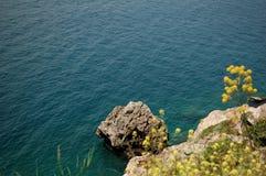 Взгляд побережья Антальи Стоковое Изображение RF