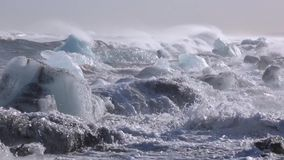 Взгляд побережья Исландии Andreev сток-видео