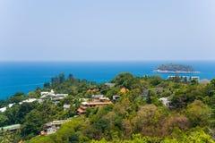 Взгляд побережья Пхукета, Таиланда Стоковая Фотография