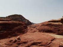 Взгляд поперек от Petra Стоковые Фотографии RF