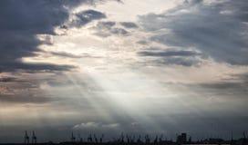 Взгляд порта Стоковая Фотография RF