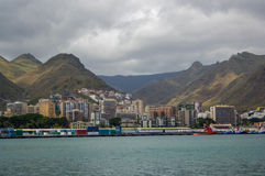 Взгляд порта Santa Cruz Стоковые Изображения