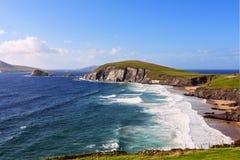 Взгляд полуострова dingle - Ирландии Стоковое Изображение RF