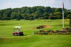 Взгляд поля для гольфа Стоковые Фотографии RF