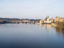 Взгляд Праги, чехии стоковые фото