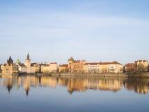 Взгляд Праги, чехии стоковые фотографии rf