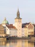 Взгляд Праги, чехии стоковые изображения rf