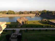 Взгляд природы исторического места имея память искусства и влюбленность который дают утеху к сердцу Стоковая Фотография RF