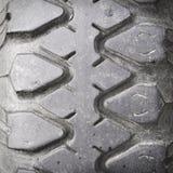 Взгляд профиля шины резины грузового автомобиля Стоковое фото RF