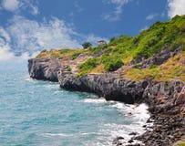Взгляд пункта на острове Si Chang Стоковые Изображения