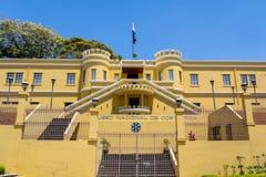 Взгляд площади de Ла Democracia от Национального музея Коста-Рика Стоковая Фотография