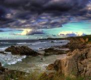 Взгляд пляжа и побережья Стоковое фото RF