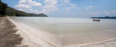 Взгляд пляжа на острове Samui Koh Стоковое Фото