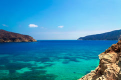 Взгляд пляжа gordo пеламиды Стоковые Фотографии RF