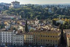 Взгляд раздела Флоренса Италия, европа Стоковые Фото