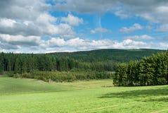 Взгляд рая между Bromberg и Boehlen Стоковые Фото