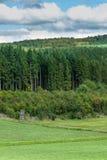 Взгляд рая между Bromberg и Boehlen Стоковое Фото