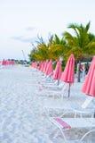 Взгляд рая тропического пустого песочного plage с Стоковое Фото