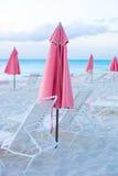 Взгляд рая тропического пустого песчаного пляжа Стоковая Фотография