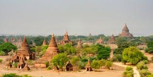 Взгляд древних храмов Стоковые Изображения