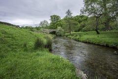Взгляд реки в лете Стоковая Фотография RF