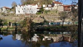 Взгляд реки - Испания Стоковые Изображения RF
