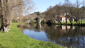 Взгляд реки - Испания Стоковые Изображения