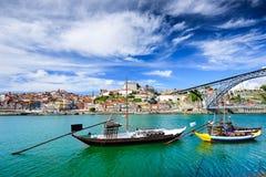 Взгляд реки Лиссабона Португалии Дуэро Стоковые Фотографии RF