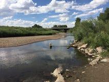 Взгляд реки стоковая фотография rf