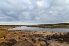 Взгляд реки Khong Стоковое фото RF