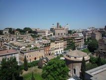 Взгляд Рима от холма Palatine стоковые изображения rf