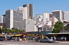 Взгляд Рио-де-Жанейро городской Стоковое Фото