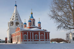 Взгляд России Kolomna исторического центра стоковое изображение rf