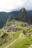 Взгляд руин Machu Picchu сверху Стоковые Фото