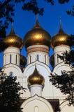 Взгляд Русской православной церкви стоковая фотография rf