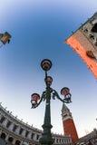 взгляд Рыб-глаза квадрата Сан Marco в Венеции, Италии 4 Стоковая Фотография