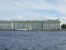Взгляд Санкт-Петербурга, России 9-ое сентября 2016 Зимнего дворца в Санкт-Петербурге, России Стоковое фото RF