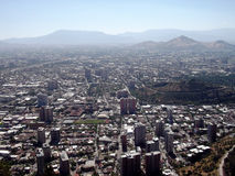 Взгляд Сантьяго Чили Стоковая Фотография RF