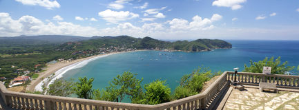 Взгляд Сан-Хуана del Sur в Никарагуа Стоковое Изображение RF