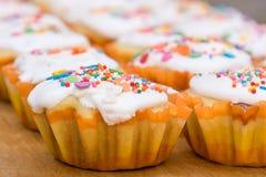 Взгляд свеже подготовленного пирожного пасхи Стоковая Фотография RF